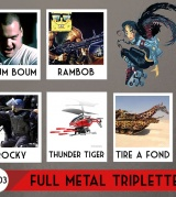 Full Metal Triplettes